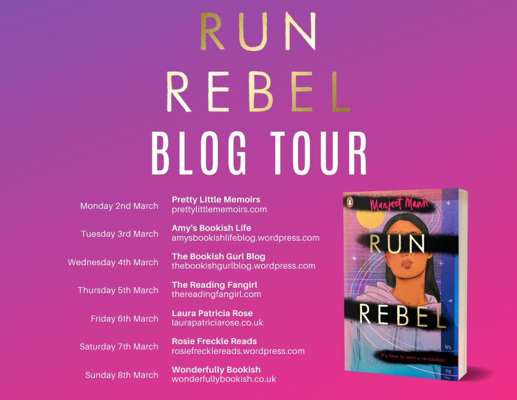 Blog Tour & Review: Run, Rebel by Manjeet Mann