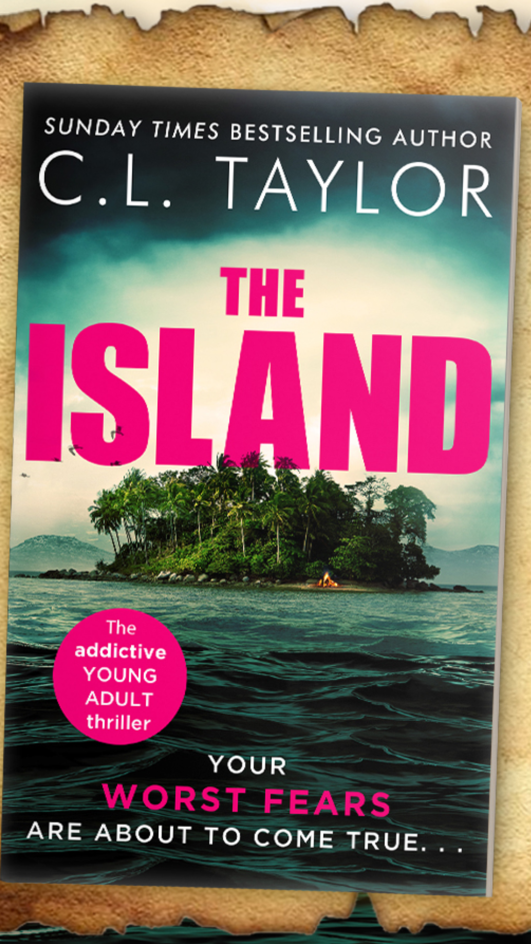 Cover Reveal: The Island by C. L. Taylor