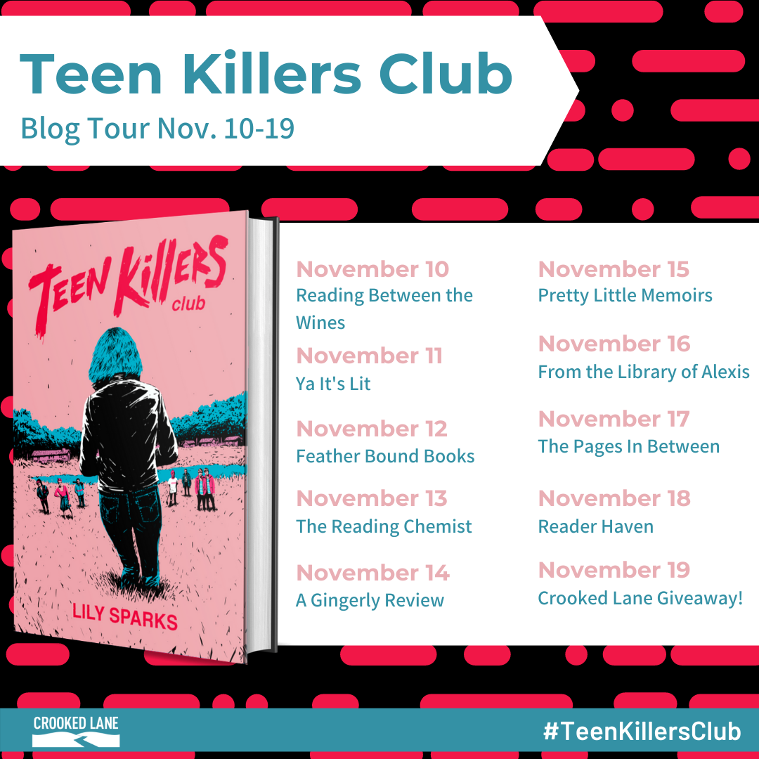 Blog Tour: Teen Killers Club by Lily Sparks